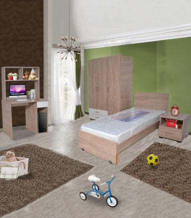 chambre à coucher pour enfants