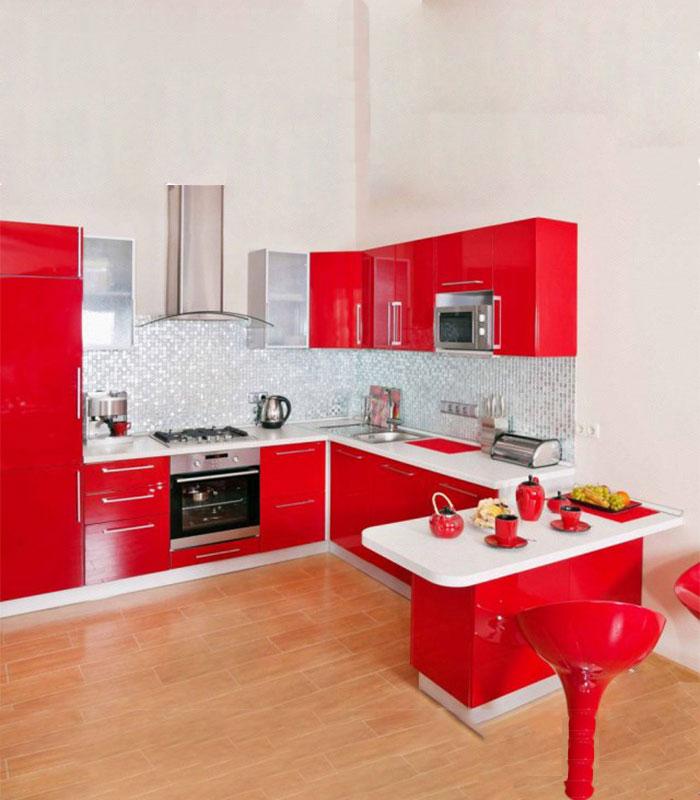 Cuisine Moderne: Cuisine Moderne Rouge